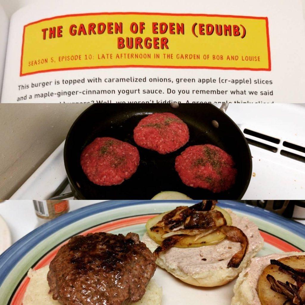 garden of edumb burger